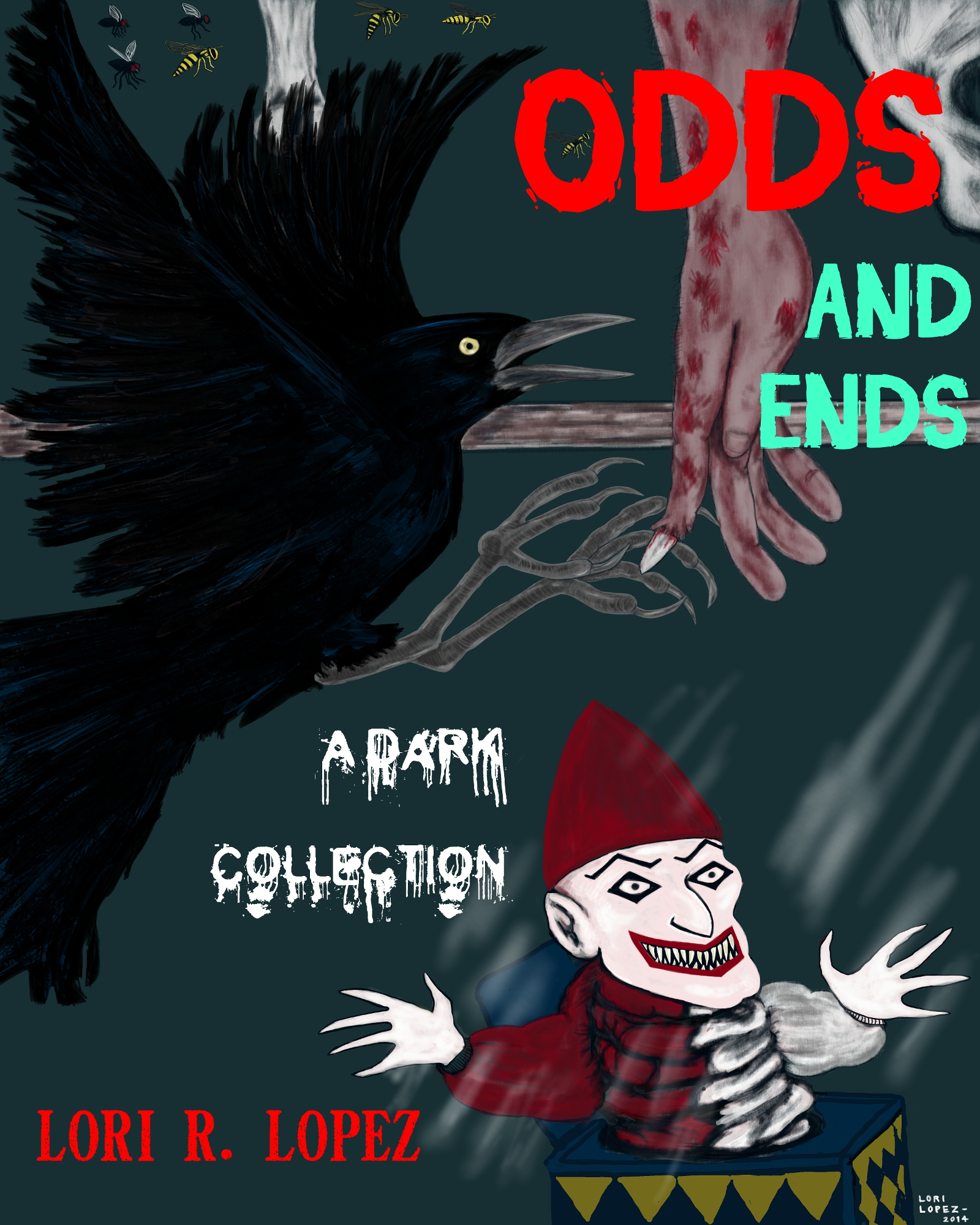 Odd And Ends Cover By Lori R. Lopez Cover