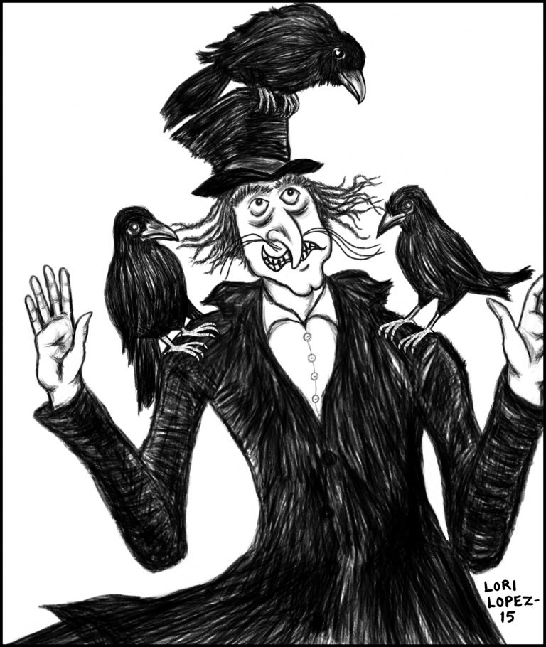 Illustration:  Mister Snark And The Birds