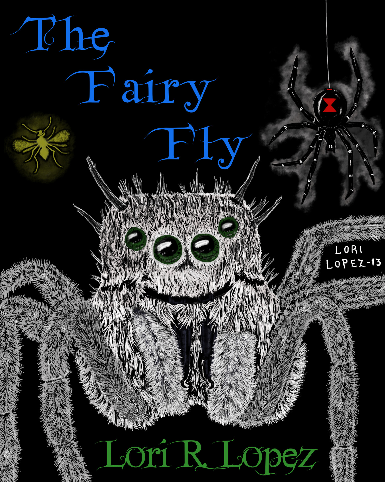 The Fairy Fly By Lori R. Lopez Cover