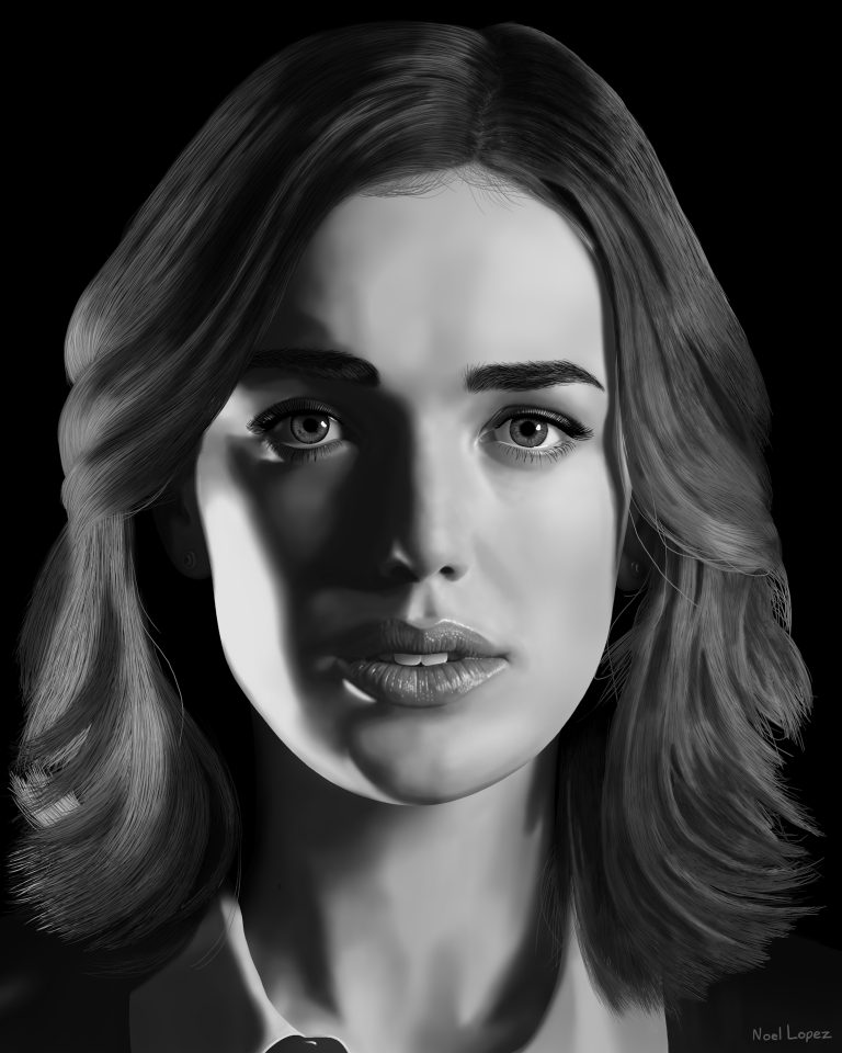 Fan Art – Jemma Simmons/Elizabeth Henstridge