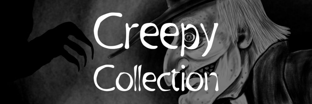 Creepy Book Collection Banner - Nosferatu Shadow