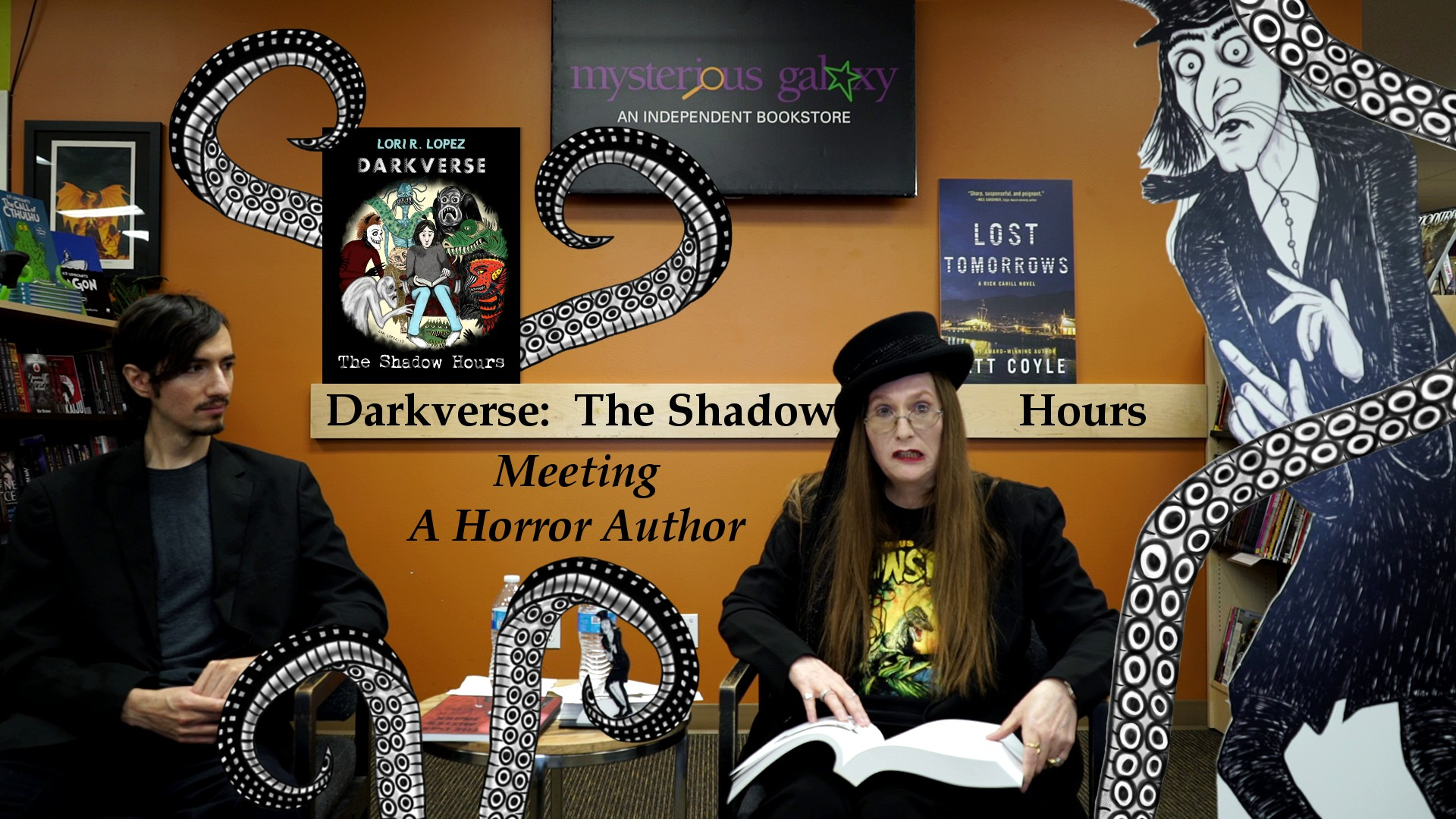 Lori R. Lopez Reading And Presentation At Mysterious Galaxy Bookstore With Darkverse Tentacles