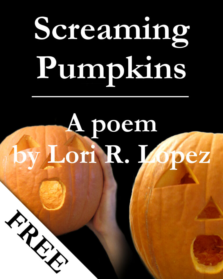 Poem:  screaming pumpkins