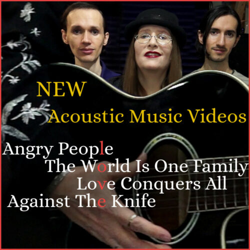 New Acoustic Music Videos by The Fairyflies Folk Band